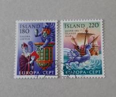 N° 518 Et 519       Europa 1981  -  Folklore - Gebruikt