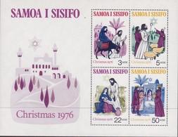 Samoa 1976 Christmas Sc 445a Mint Never Hinged - Samoa