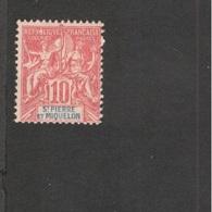 ST:PIERRE&MIQUELON1894: Yvert5mhh*(heavy Hinged)Cat.Value17Euros - St.Pierre Et Miquelon