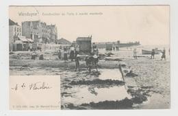 Wenduyne  Wenduine  Construction Des Forts à Marée Montante  Edit De Maecker N° 5074 - Wenduine