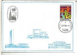 NACIONES UNIDAS ONU UNITED NATIONS 1984 LINZ ARQUITECTURA CATEDRAL - Centre International De Vienne