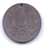 BÖHMEN UND MÄHREN 1944: 1 Krone, KM 4 - [ 4] 1933-1945 : Tercer Reich