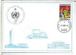 NACIONES UNIDAS ONU UNITED NATIONS 1985  GARSTEN - Centre International De Vienne