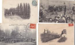 Jolie  Lot  Du Rond D Orléans Sinceny   Aisne - Cartoline