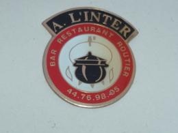 Pin's BAR RESTAURANT ROUTIERS A L INTER - Alimentazione