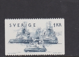 SCHIFFFACHRT SHIPS SHIPPING NAVAL TRANSPORT EXPÉDITION TUG REMORQUEUR SCHLEPPER -  SWEDEN SUEDE SCHWEDEN 1974 MNH MI 874 - Ships