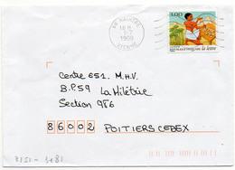 France N° 3151 Y. Et T. Vienne Naintré Flamme Muette Du 01/07/1999 - Marcophilie (Lettres)