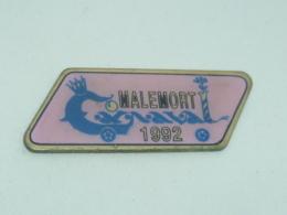 Pin's CARNAVAL DE MALEMORT 1992 - Villes