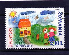 ++ Sello De Rumania Año 2006  Usado   Europa Cept - Sonstige
