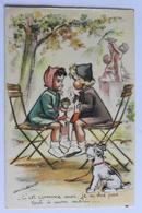 """GERMAINE BOURET  """"c Est Comme Moi Je N Dis Pas Tout A Mon Mari """" Chien A Decoupie  JDA 593 - Bouret, Germaine"""