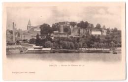 Decize - Ruines Du Château - édit. Desvignes  + Verso - Decize