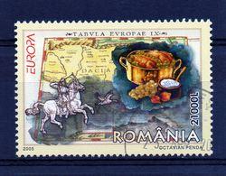 ++ Sello De Rumania Año 2005  Usado   Europa Cept - Sonstige