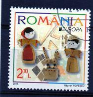 ++ Sello De Rumania Año 2015  Usado   Europa Cept - Sonstige