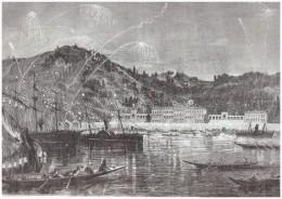 Gravure De  1865 CONSTANTINOPLE TURQUIE ISTANBUL ISTAMBUL    FETE DE NUIT   SUR BOSPHORE   Anniversaire Du Sultan - Non Classés