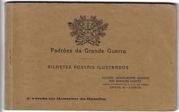 WWI Livret ( 11 Postcards ) Portugal France Coimbra Madrid Flandres Lacouture - Guerra 1914-18