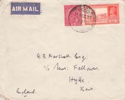 INDIA - LETTER 1937 - ENGLAND /ak1034 - India (...-1947)