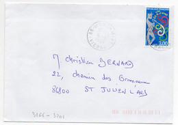 France N° 3166 Y. Et T.Vienne Montamisé Cachet A9 Du 16/09/1998 - Postmark Collection (Covers)