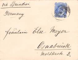 INDIA - LETTER 1904 - OSNABRÜCK/GERMANY  /ak1035 - India (...-1947)