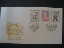 Tschechoslowakei- Schmuckbeleg FDC UNESCO Mi. 1106-1108 - Briefe U. Dokumente
