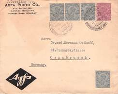 INDIA - LETTER 1923 BOMBAY - OSNABRÜCK/GERMANY  /ak1036 - India (...-1947)