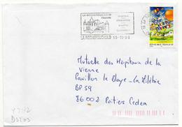 France N° 3172 Y. Et T. Charente La Rochefoucauld Flamme Illustrée Du 13/10/1998 - Postmark Collection (Covers)