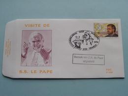 Bezoek Van Z.H. DE PAUS ( Stamp 13-5-94 Tremelo > Zie Foto Voor Detail ) F.D.C. P 1098 / Campo-Rodan ! - FDC