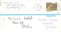CANADA - AEROGRAMME 1975 - ITALY  /ak1039 - 1953-.... Regno Di Elizabeth II