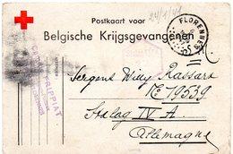 Croix-Rouge - CP Pour Prisonnier De Guerre De Florennes Vers Stalag IV A - WW II
