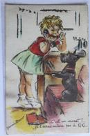 """GERMAINE A Decoupies Et Brillants """" C Est Un Secret ...je L Dirai Meme Pas A Kiki """" JDA 681 - Bouret, Germaine"""