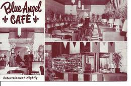 Blue Angel CAfé, Montréal, Québec, Unused   (P277) - Montreal
