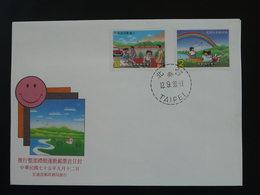 FDC Journée De L'environnement Taiwan 1986 - 1945-... République De Chine