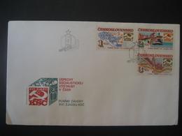 Tschechoslowakei- FDC Satzbeleg Soz. Aufbauerfolg In Der CSSR Mi. 2786-2788 - Briefe U. Dokumente