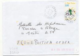 France N° 3179 Y. Et T.Vienne Maisonneuve Cachet A9 Du 09/02/1999 - Postmark Collection (Covers)