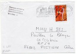France N° 3181 Y. Et T. Vienne Montmorillon Flamme Illustrée Du 04/05/1999 - Marcophilie (Lettres)