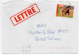 France N° 3185 Y. Et T. Vienne Châtellerault Ppal Flamme Muette Du 18/02/1999 - Marcophilie (Lettres)