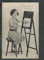 Phénomènes: La Peintre Daisy Femme Tronc Sans Jambes Ni Bras - Cirque