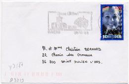France N° 3187 Y. Et T. Gironde Macau Flamme Illustrée Du 28/12/1998 - Postmark Collection (Covers)