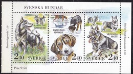 Schweden, 1989, 1569/71, MNH **, Schwedische Hunderassen. - Neufs