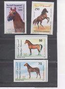 TUNISIE  - Faune - Chevaux : Pur-sang Arabe, Cheval Barbe, Cheval Arabo-barbe, Pur-sang Arabede Tunisie-tête - - Tunisia (1956-...)