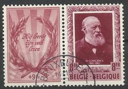 Belgique N° 899 Oblitéré De 1952 - Belgique
