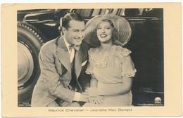 """CINEMA,,  Couple D'Acteurs - Maurice Chevalier, Jeanette Mac Donald - """"Ross""""  Verlag - Actors"""