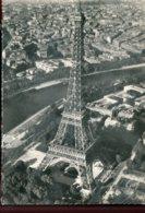 75 - En Avion, Sur Paris...La Tour Eiffel - Pilite Opérateur R.Henrard - Eiffelturm