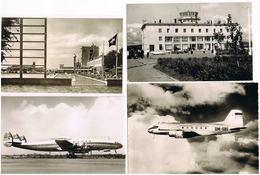 Lot 56 Ansichtskarten Motiv Flugzeug Und Flughafen - Cartes Postales