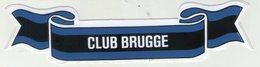 AUTOCOLLANTS . STICKER .  FOOTBALL . VOETBAL . CLUB  BRUGGE - Autocollants