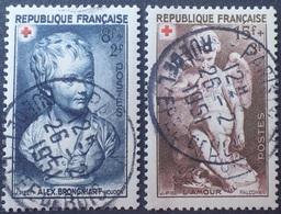 DF/1084 - 1950 - CROIX ROUGE - N°876 à 877 ☉ - France