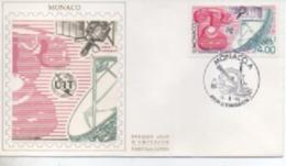 MONACO FDC   UIT    N° YVERT ET TELLIER  1718 1990 - FDC