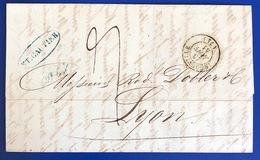 1841 1906 Lot De 7 Lettres LE HAVRE INGOUVILLE Seine Inferieur - Storia Postale