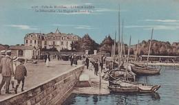 CPA Larmor-Baden - Le Débarcadère - La Plage Et Le Grand-Air - 1931 (49261) - Vannes