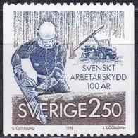 Schweden, 1990, 1600,  MNH **, Arbeitsschutz. - Svezia