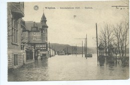 Wépion Inondations 1920 Station - Profondeville